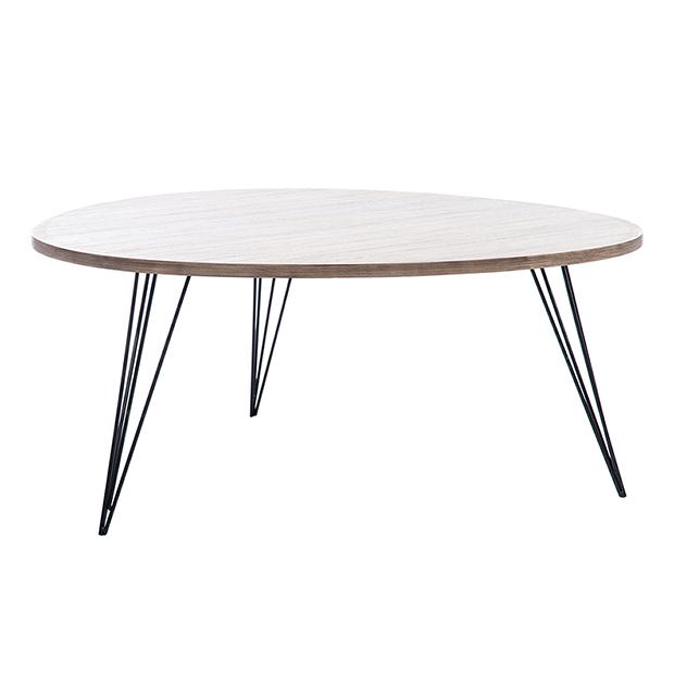 Mesa retro de estilo nórdico