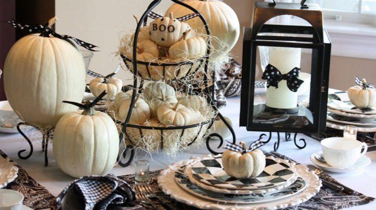 decoración de mesas Halloween. El Corte Inglés