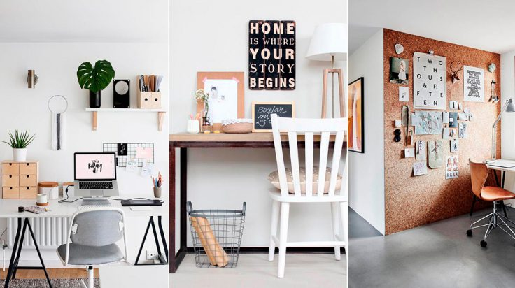 5 claves para decorar tu oficina en casa stylelovely for Como se debe decorar una oficina