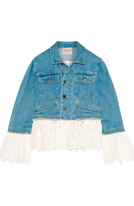 denim tendencias cazadora