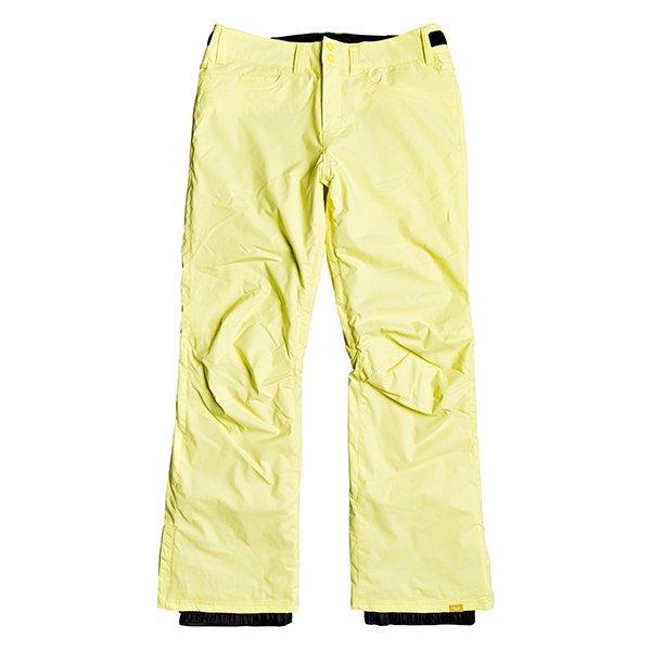 Pantalones amarillos de esquí para mujer