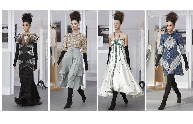 Diseños en la pasarela de Chanel