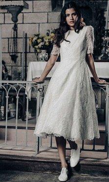 Novias perfectas para bodas en otoño