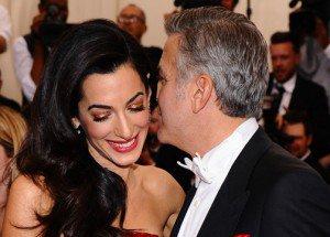 Cómo George Clooney le pedió matrimonio a Amal Alamuddin