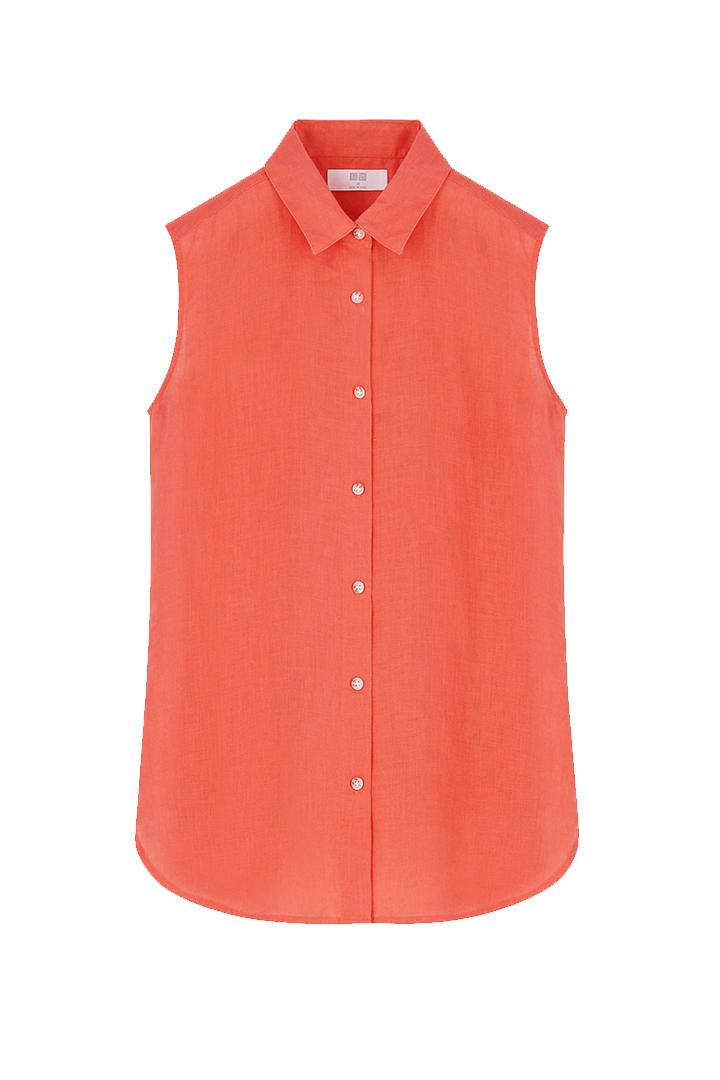 Camisa de lino de Uniqlo
