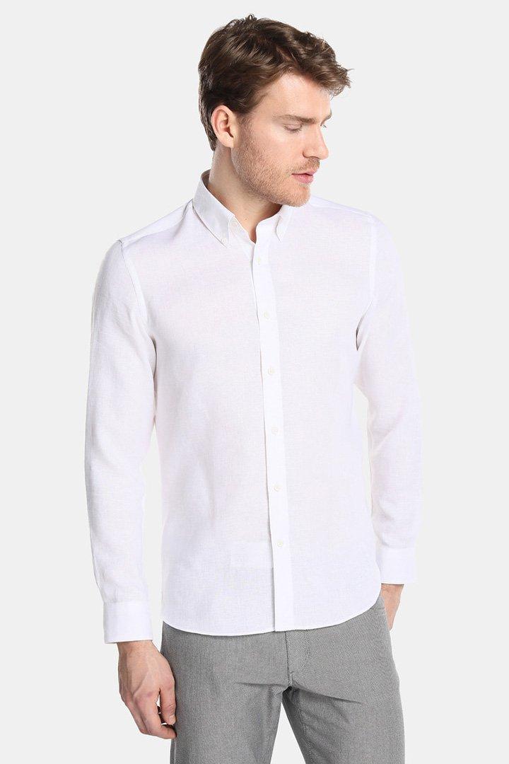camisa blanca de emidio tucci