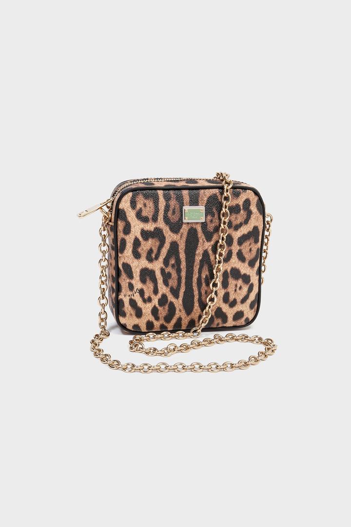 Bolso con estampado animal de Dolce & Gabbana