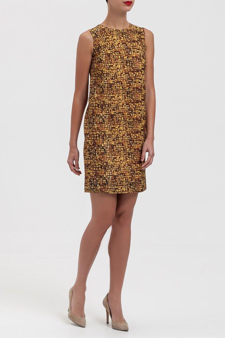 Vestido geométrico de Dolce&Gabbana