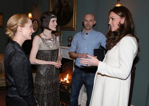 Joanne Froggatt pasa un rato de lo más incómodo con Kate Middleton