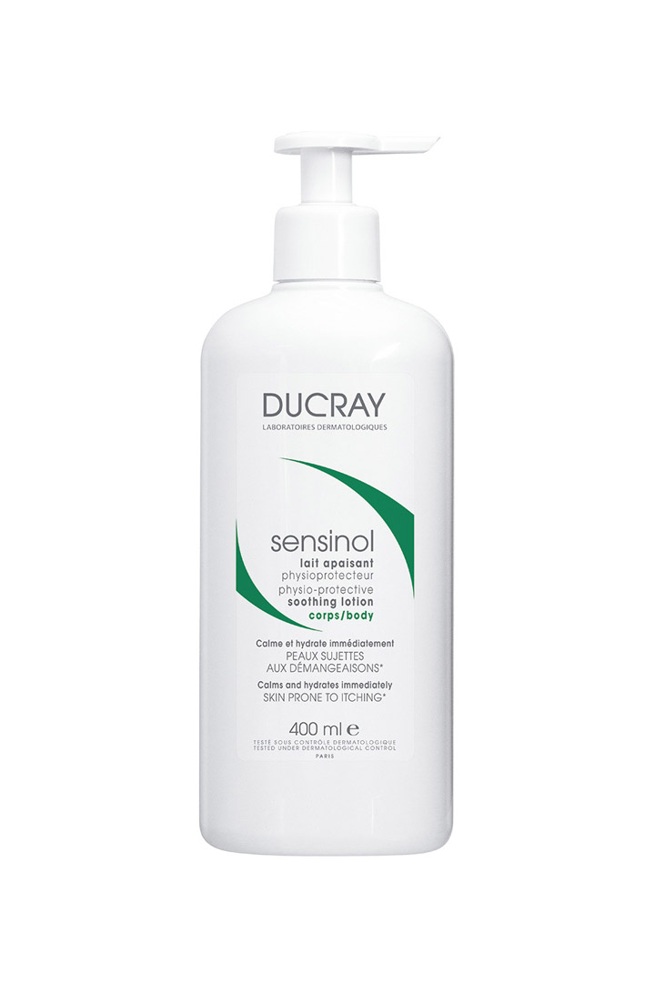 Leche Corporal Sensinol de Ducray: Mejores cremas hidratantes corporales