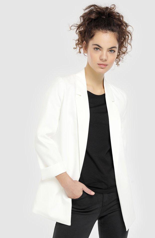 Blazer sin cierre y con manga francesa de Easy Wear: chaqueta temporada 2019