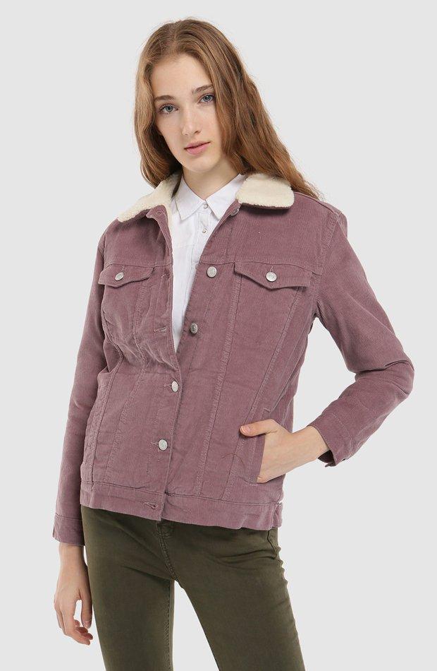 Cazadora de pana con borrego de Easy Wear: chaqueta temporada 2019