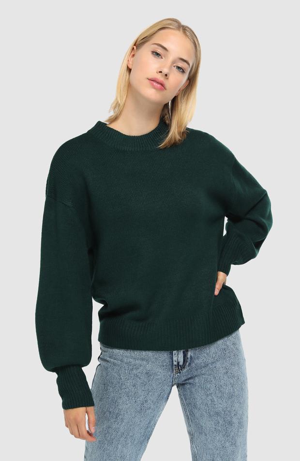 Jersey con manga globo de Easy Wear: jerséis otoño invierno 2018