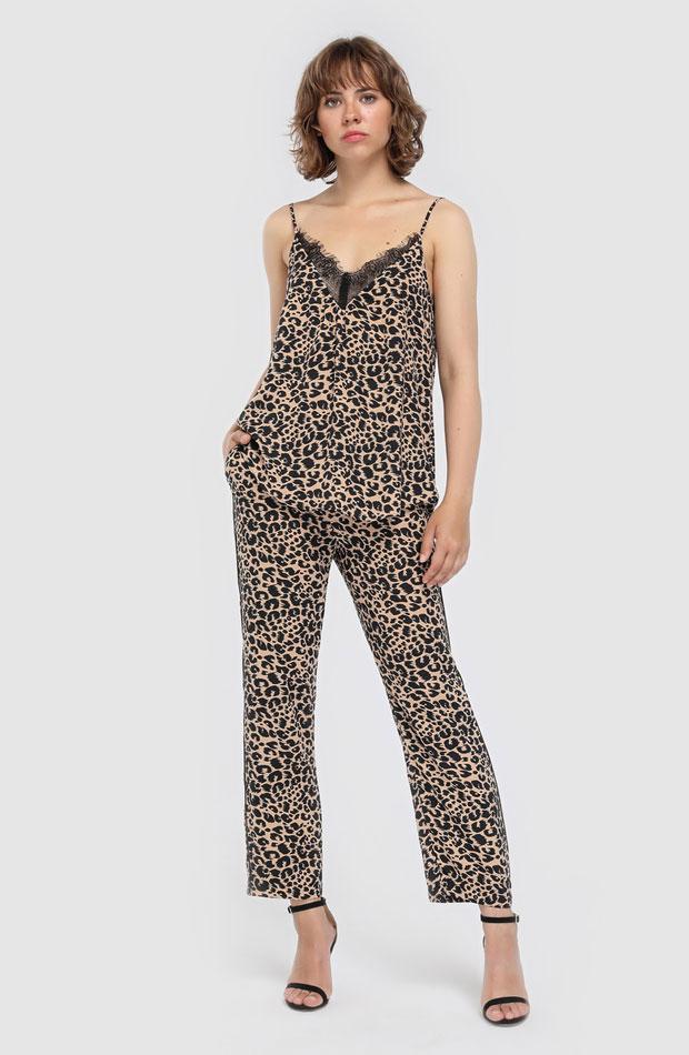 Top de leopardo de Easy Wear: prendas volver rutina