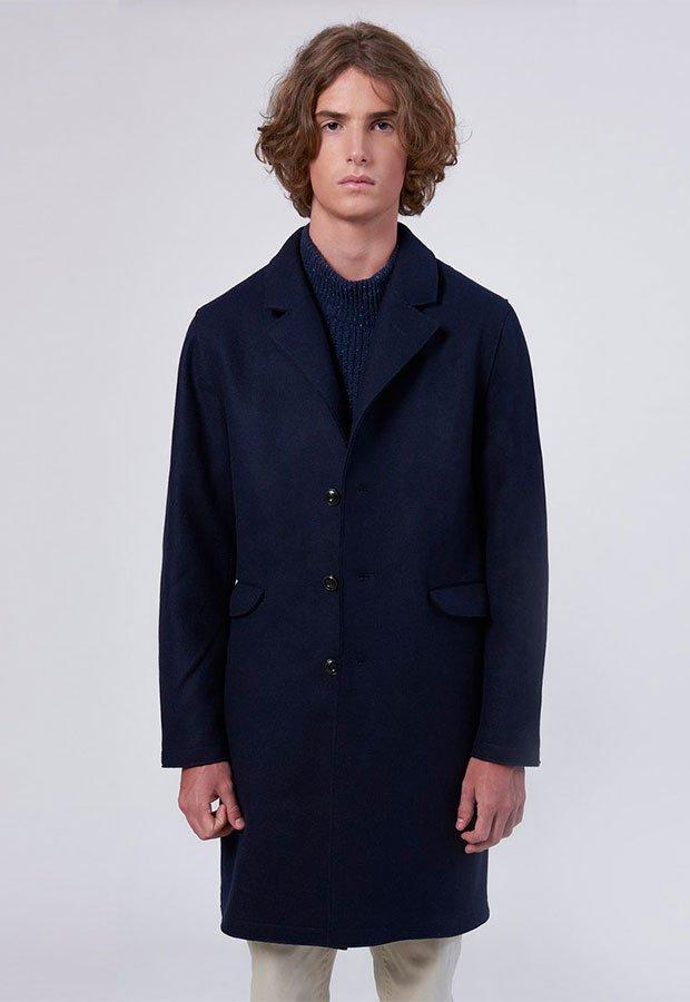 Abrigo azul de Edmmond AW 2018