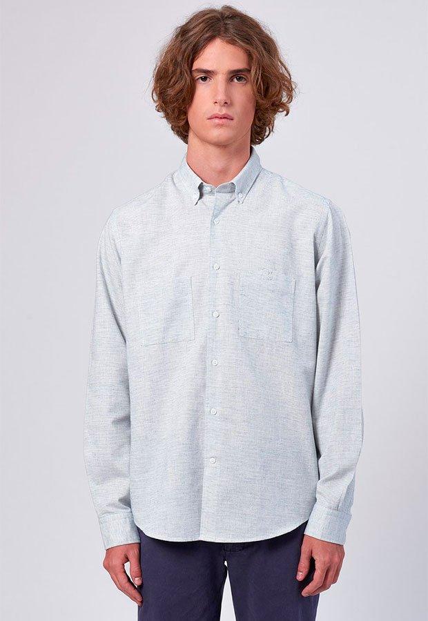 Camisa de rayas de Edmmond AW 2018