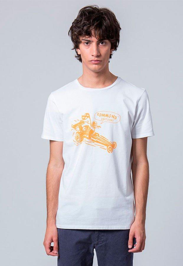 Camiseta blanca de Edmmond AW 2018