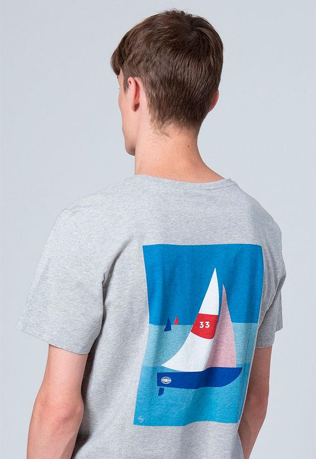 Camiseta gris de Edmmond AW 2018
