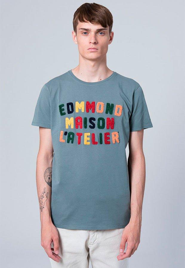Camiseta con letras de Edmmond AW 2018