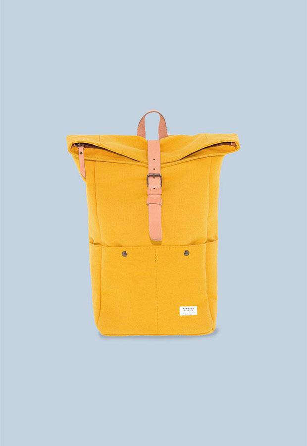 Mochila amarilla de Edmmond AW 2018