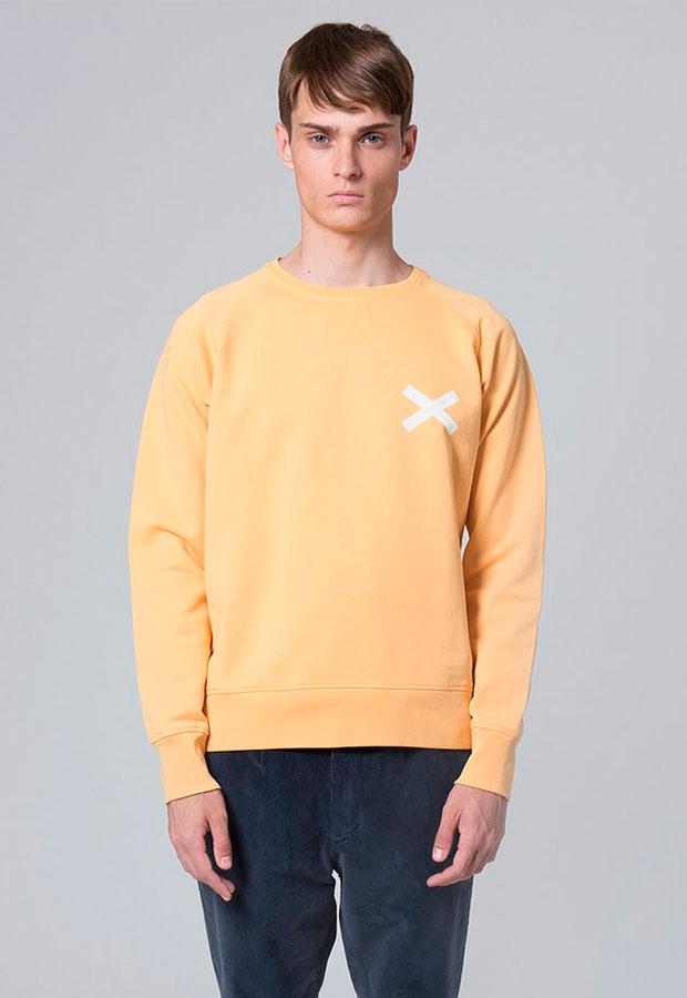 Sudadera amarilla de Edmmond AW 2018