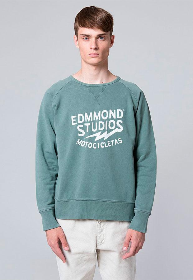 Sudadera verde de Edmmond AW 2018