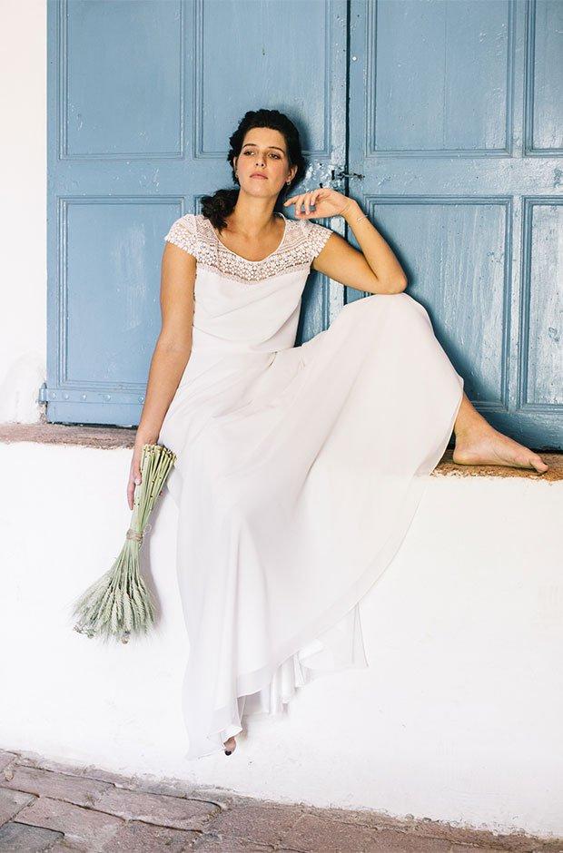 Vestido de novia de la colección Mediterranean Nature de L'Avetis