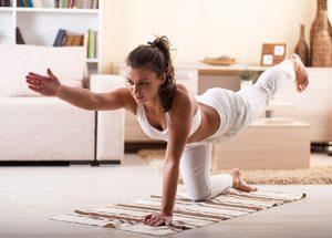 Ejercicios fitness sin salir de casa