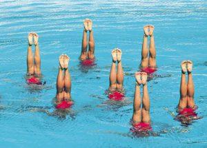 Ponte en forma en la piscina