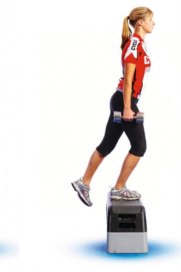 Las elevaciones son ejercicios ideales para trabajar los glúteos