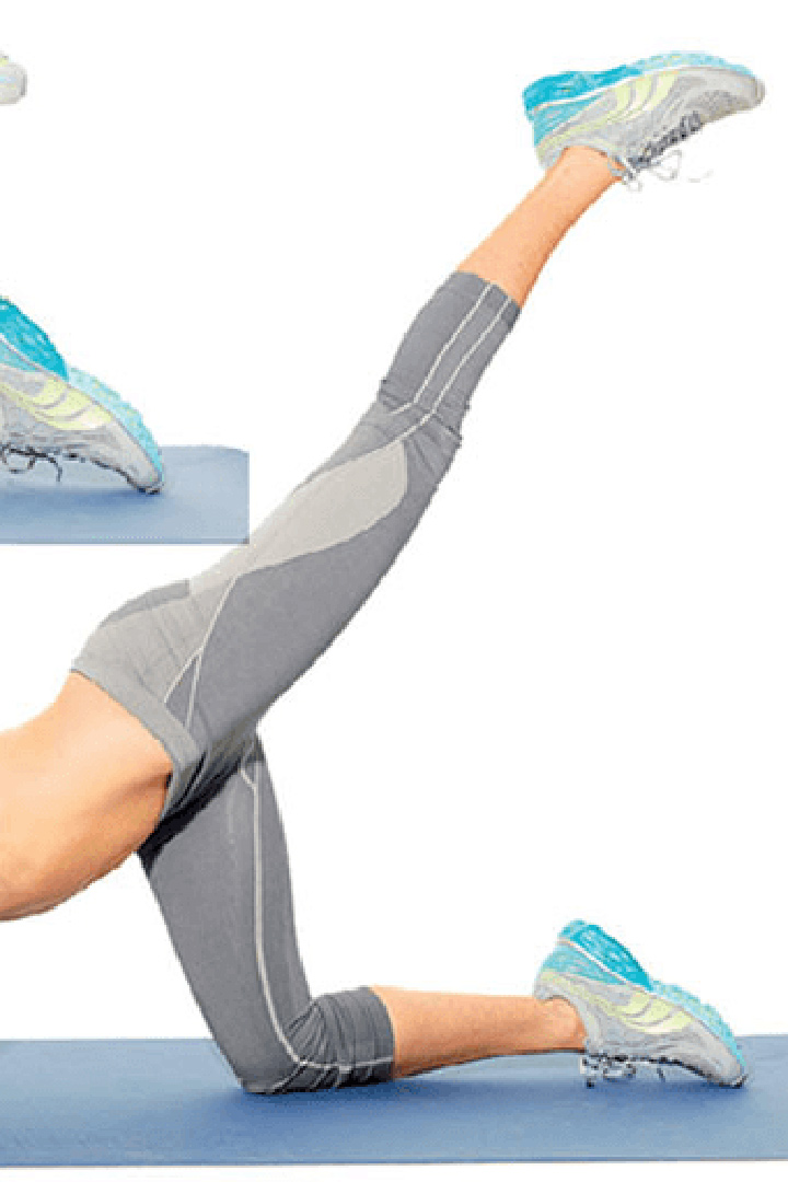 Ejercicios para la zona de los glúteos: extensiones de cadera
