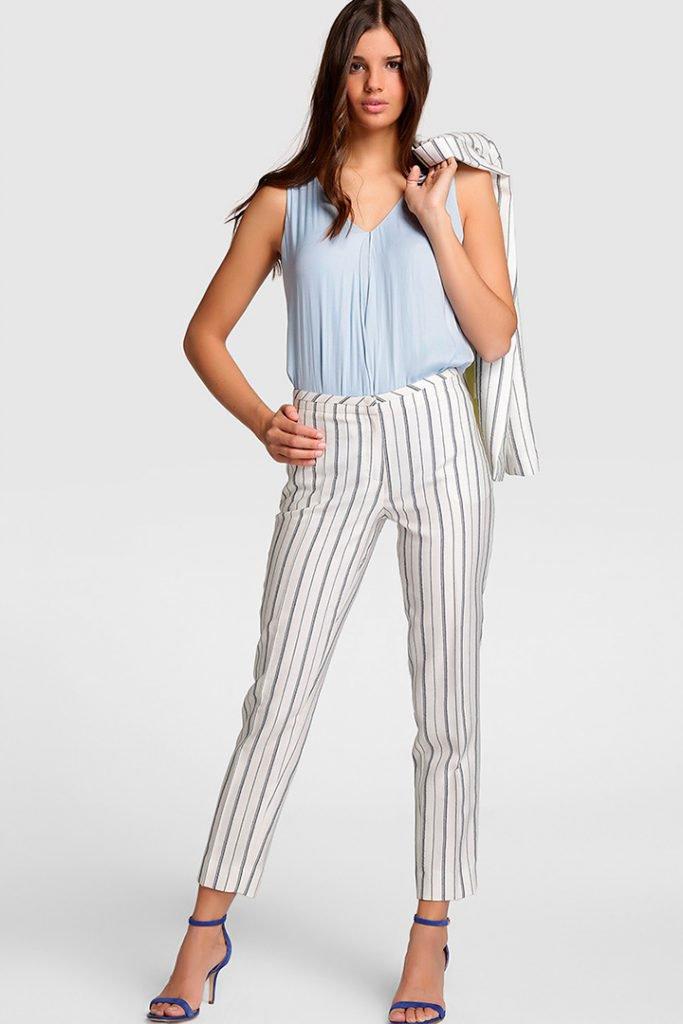 Ropa para oficina de verano: pantalones