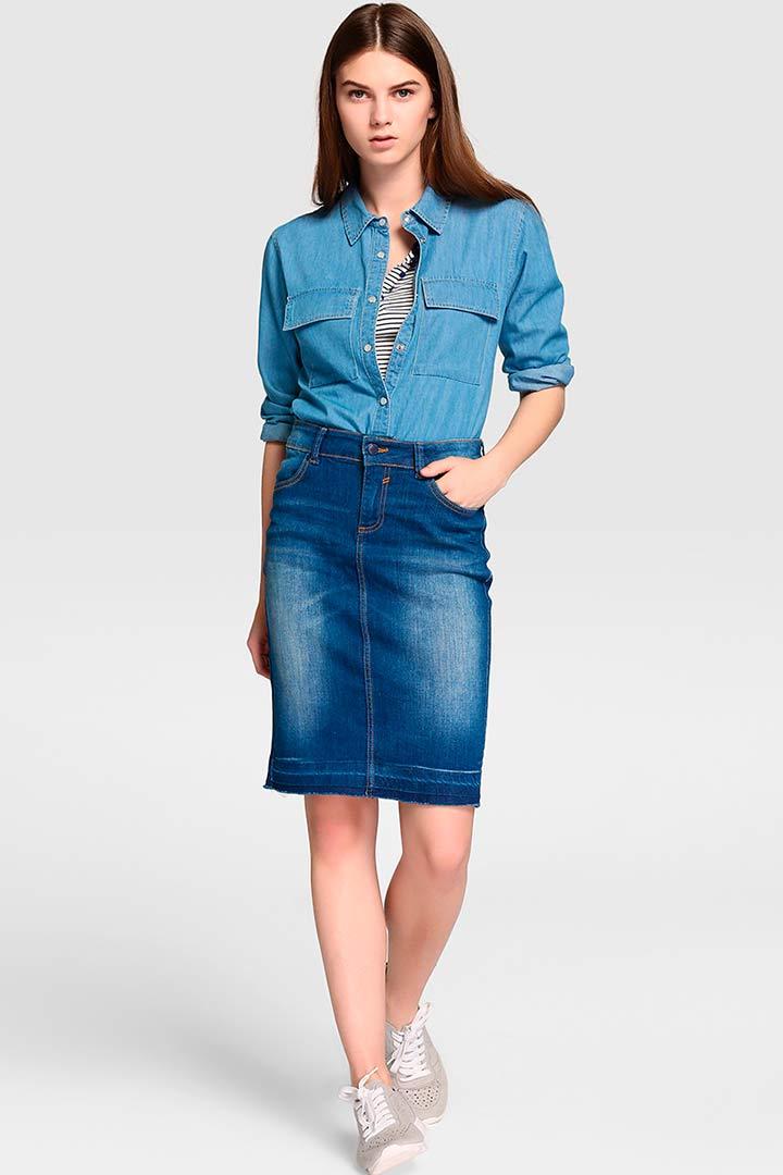 nuevo estilo 6ab56 fcc2a Denim: la tendencia que no pasa de moda - StyleLovely