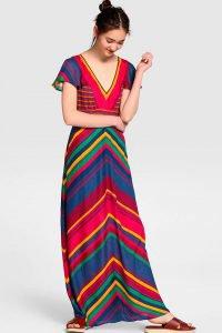 Vestidos largos: cómo combinarlos