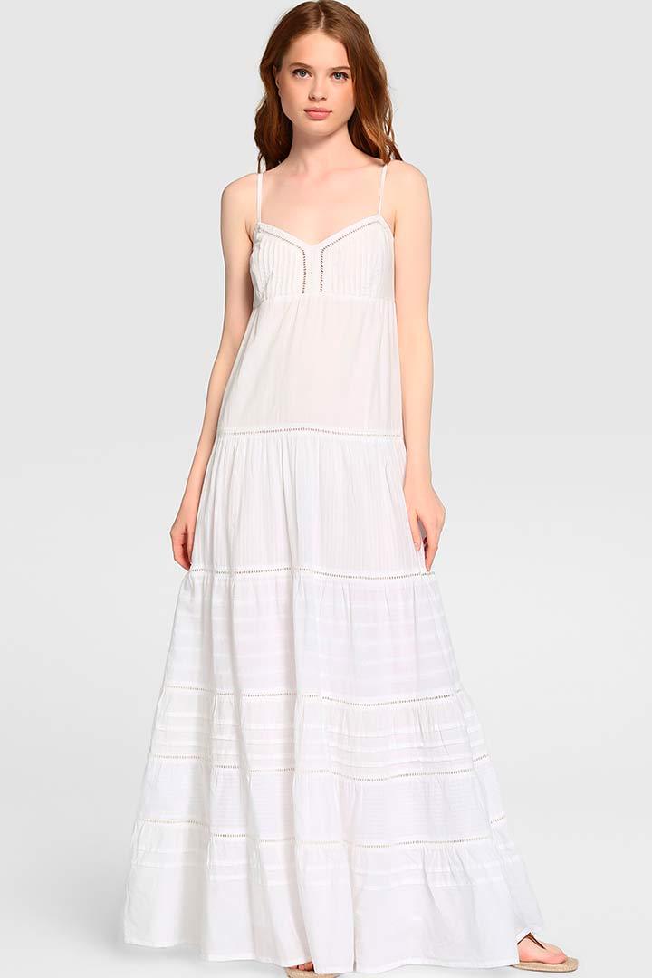 Vestidos largos blancos el corte ingles