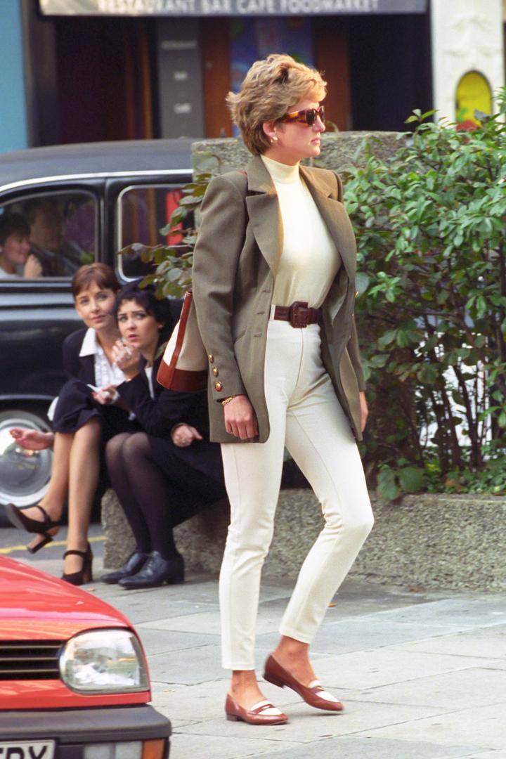 El estilo de Diana de Gales casual