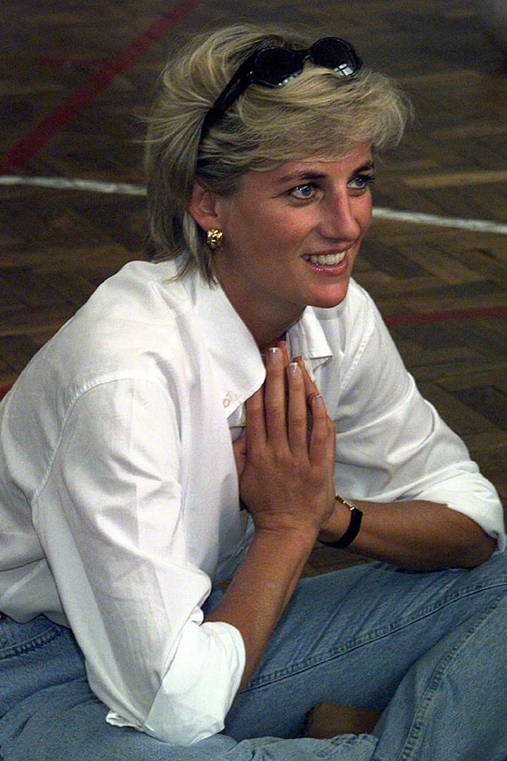 El estilo de Diana de Gales: con jeans