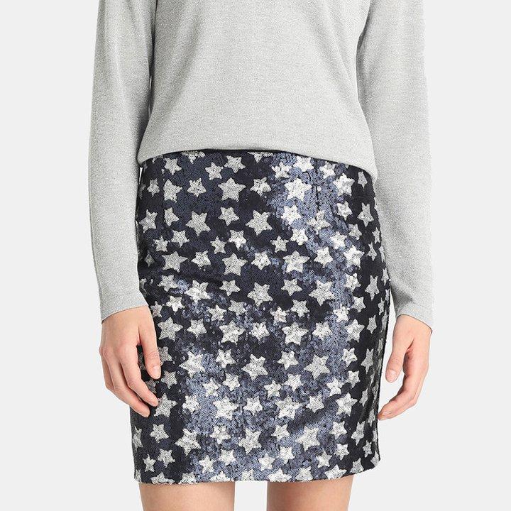 Falda de lentejuelas de Elogy: productos reina street style