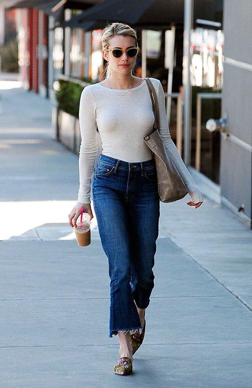 Emma Roberts comidas navideñas