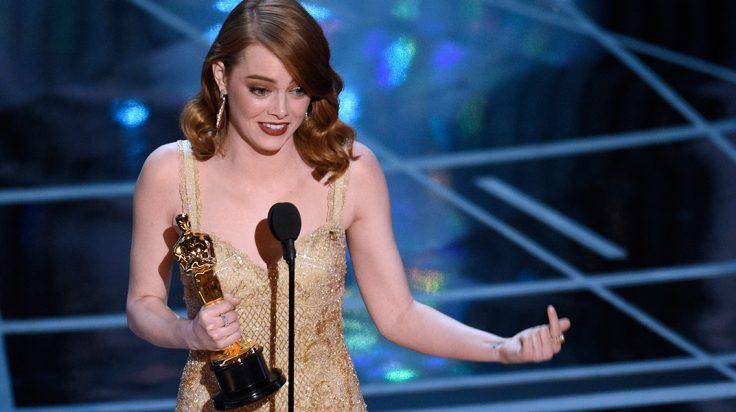 Emma Stone ganadores oscars 2017