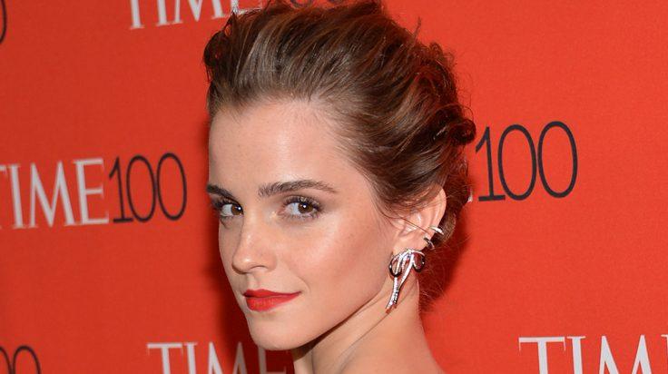 Emma Watson Bella y cenicienta