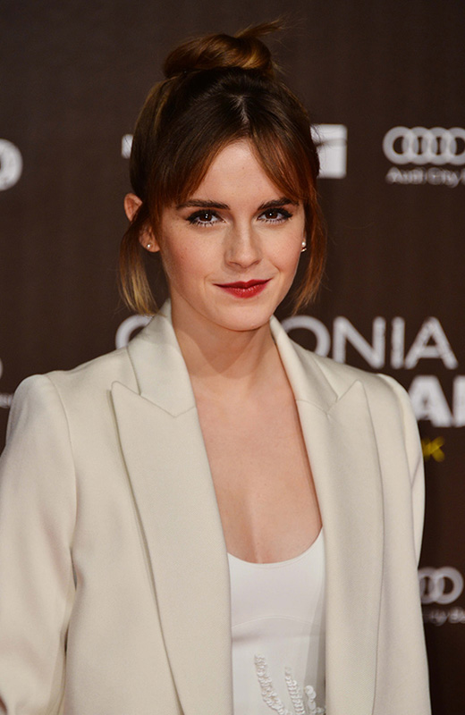 Emma Watson flequillo