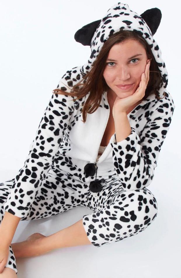 Mono largo de dálmata de Etam: pijamas