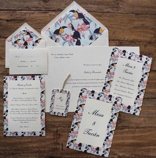 invitaciones de boda inspiración