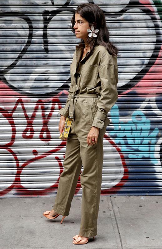 leandra medine boiler suit