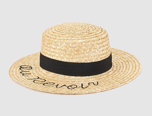 sombreros con mensajes verano 2017