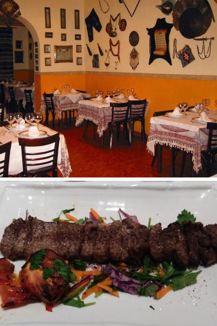 restaurantes exóticos madrid comida iraní