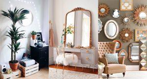15 espejos para decorar tu habitación