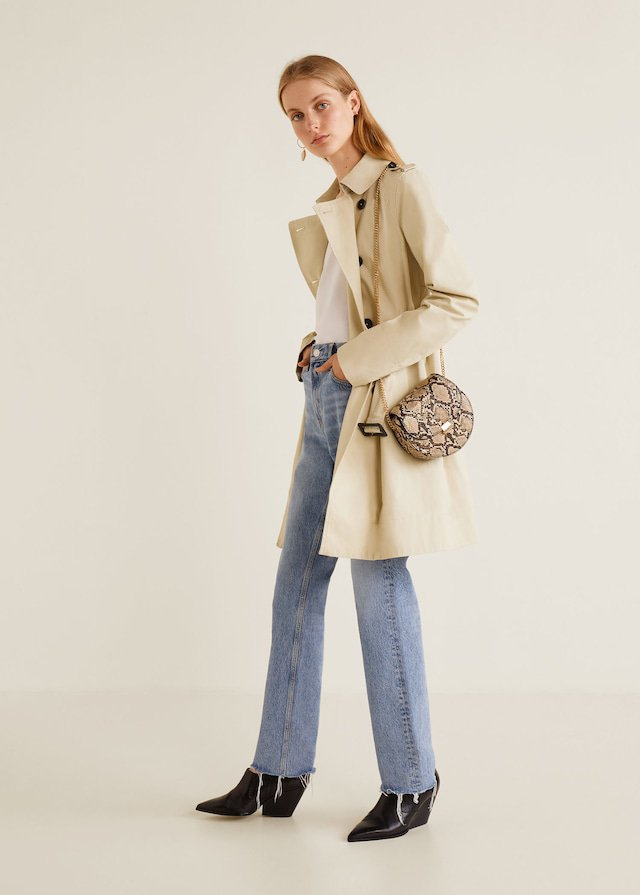 Trench beige de los Essential Prices de Mango