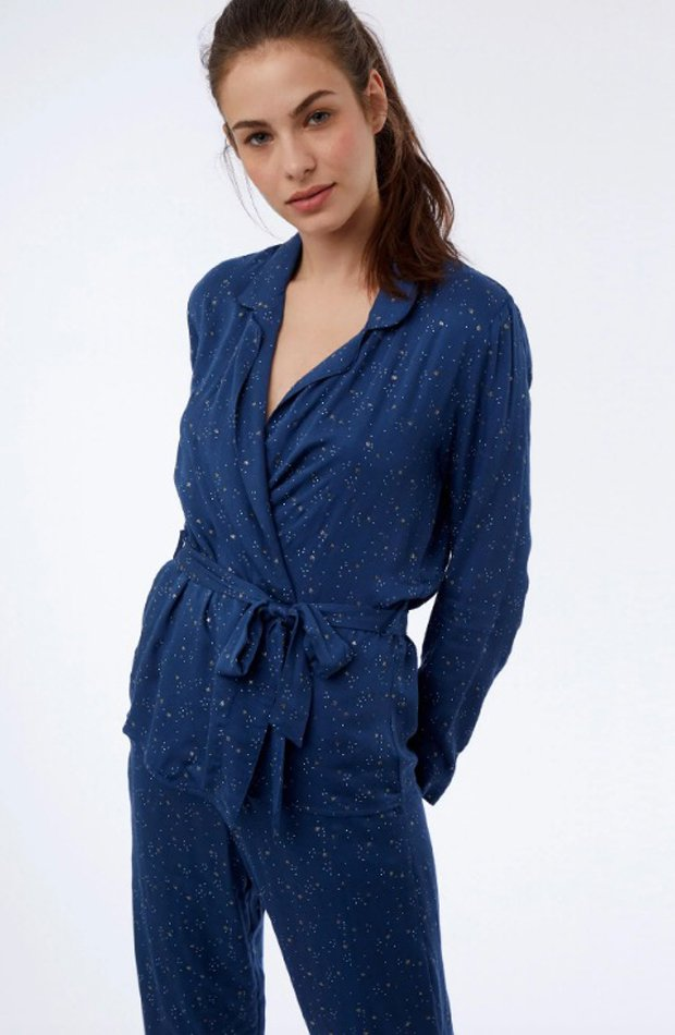 Pijama estampado estrellas de Etam: pijamas